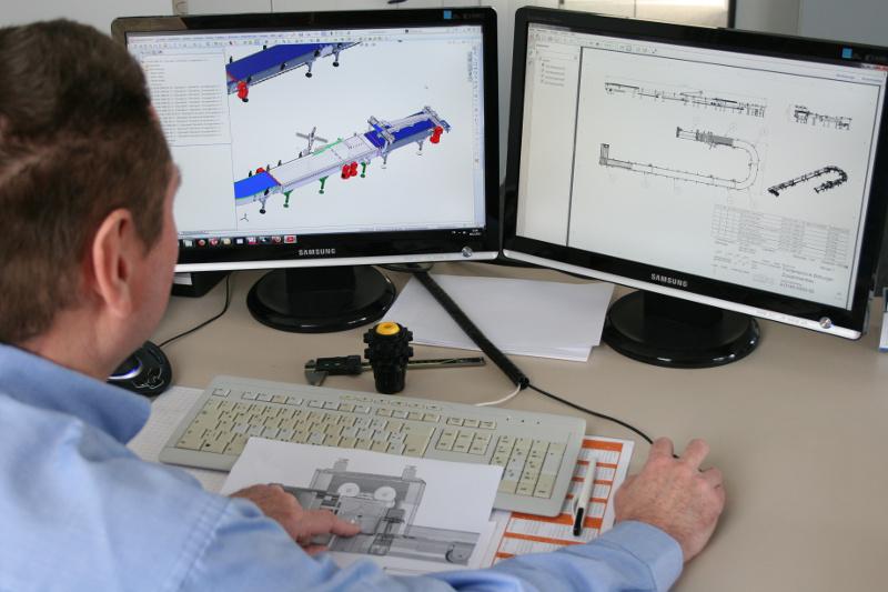 roTeg sucht neue Mitarbeiter/innen für den Bereich Konstruktion.
