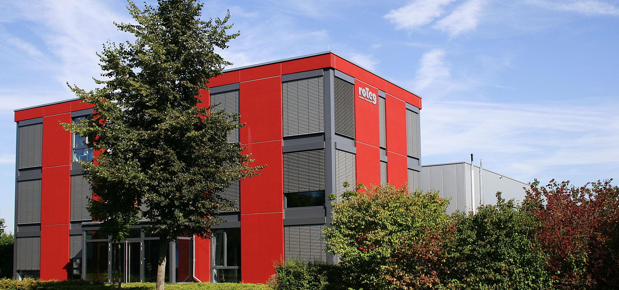 roTeg AG Dortmund Gebäude