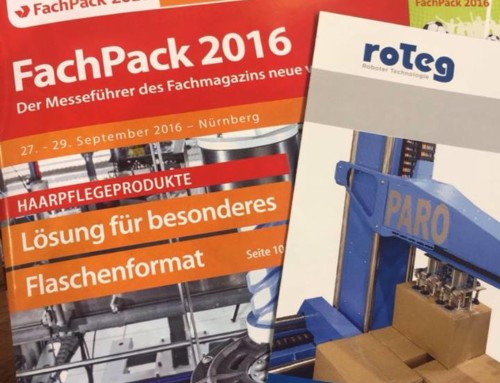 Fachpack 2016 – roTeg mittendrin!