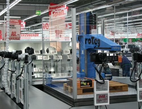 Dortmunder Roboter für den Mediamarkt