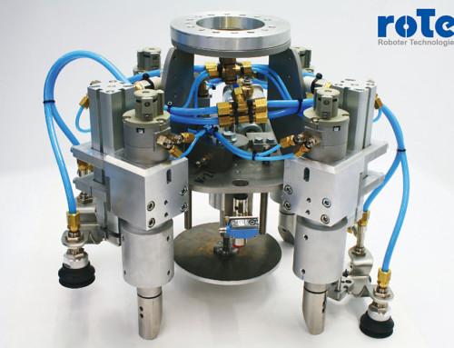 Neue Generation Greifsysteme für roTeg-Palettierroboter