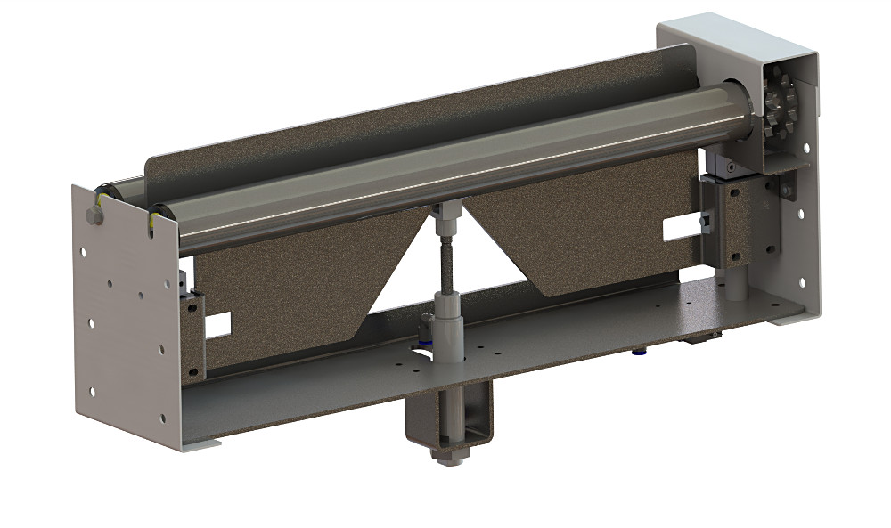 Close up roller conveyor