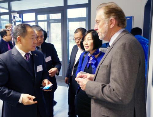 roTeg knüpft weitere Kontakte nach China