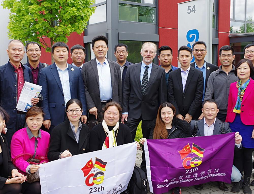 China zu Gast bei roTeg