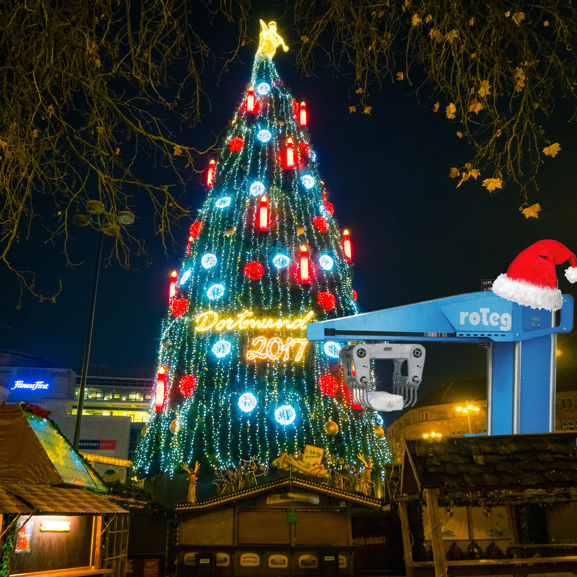 roTeg wünscht allen Kunden und Mitarbeitern frohe Feiertage und einen guten Start ins neue Jahr