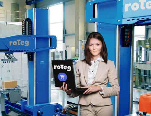 roTeg-Webshop geht in Kundenbetrieb
