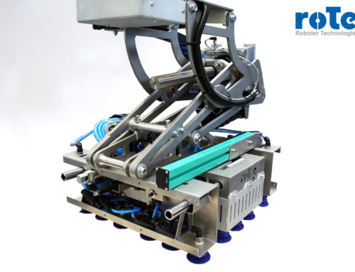 Mehr Multifunktionsgreifer bei roTeg