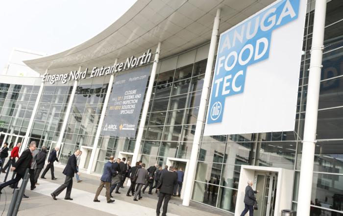 Los geht es: Die Anuga Foodtec 2018.