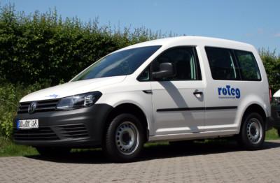 Zwei neue Caddys ergänzen die roTeg-Service-Fahrzeuge