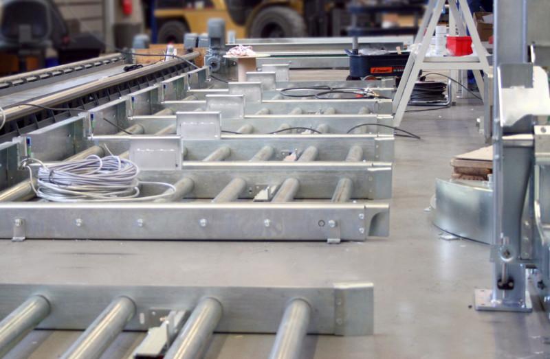 roTeg produziert Fördertechnik in Serie