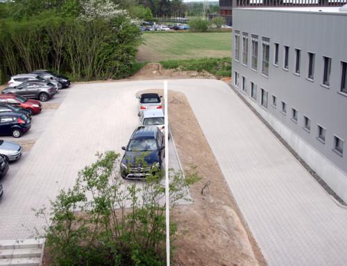 Neuer Parkplatz fertiggestellt