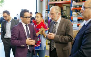 Im Juli besucht eine Gruppe Iraner die roTeg AG