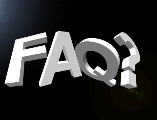 FAQ Bereich auf Webseite eingerichtet