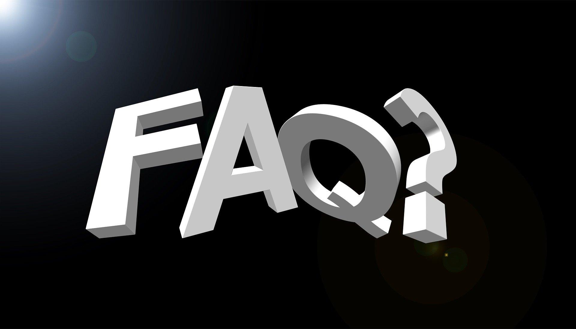 Auf der Webseite der roTeg AG gibt es jetzt einen FAQ Bereich