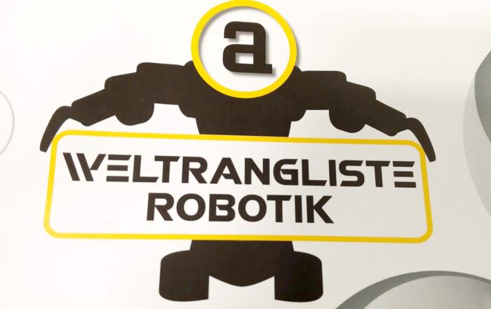 roTeg ist Teil der Roboter-Weltrangliste 2019
