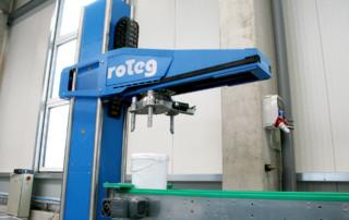 Der erste Messeroboter für die Interpack 2020 ist betriebsbereit