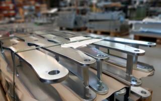 Mit der neuen Bauteillieferung kann die roTeg Fertigung ihre Arbeit nahtlos fortsetzen