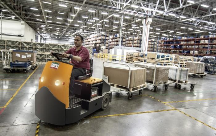 roTeg liefert weiterhin die bestellten Roboterteile an Firmen in In- und Ausland