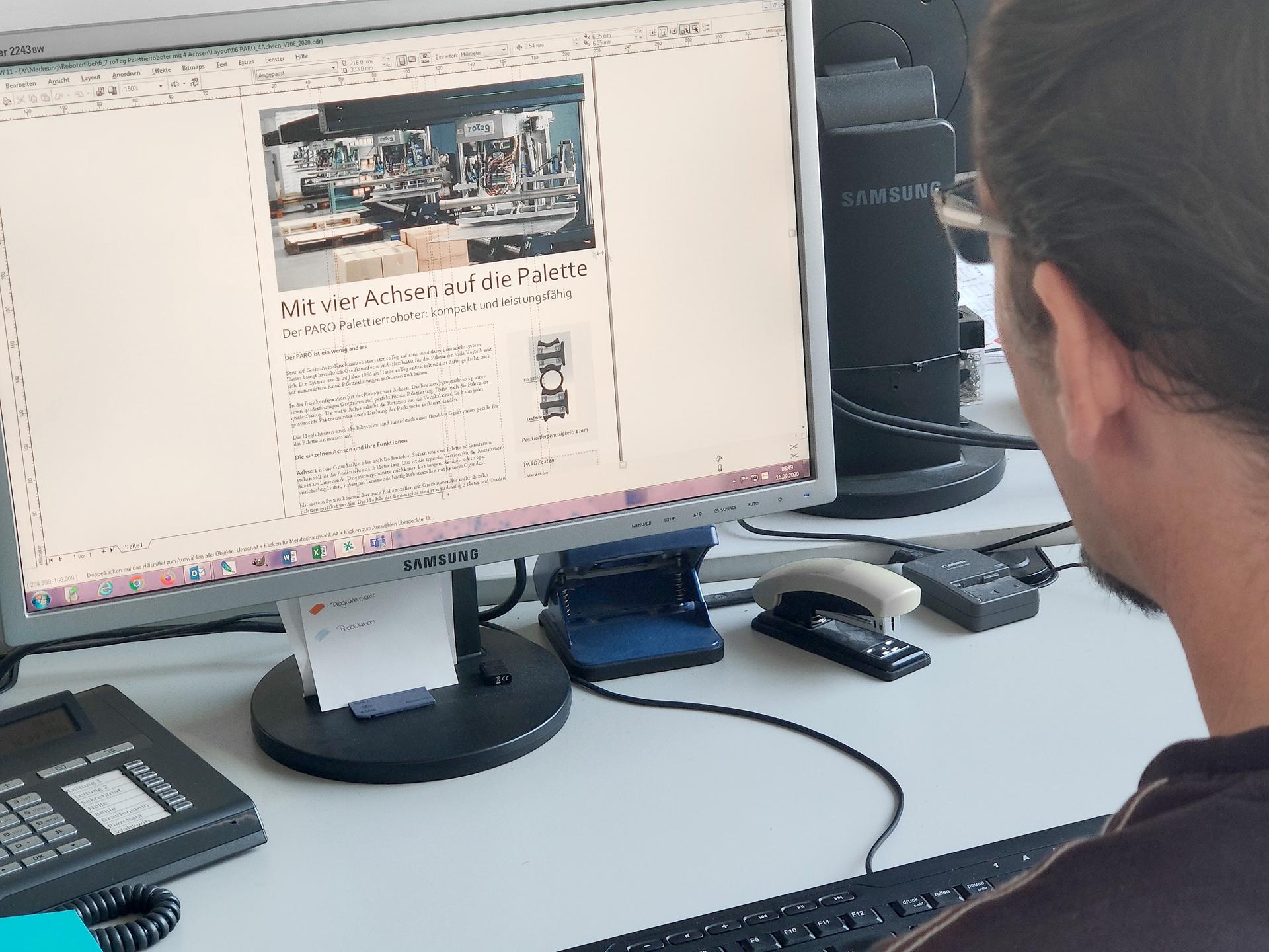 Das roTeg Team arbeitet aktuell an einem Roboter-Magazin
