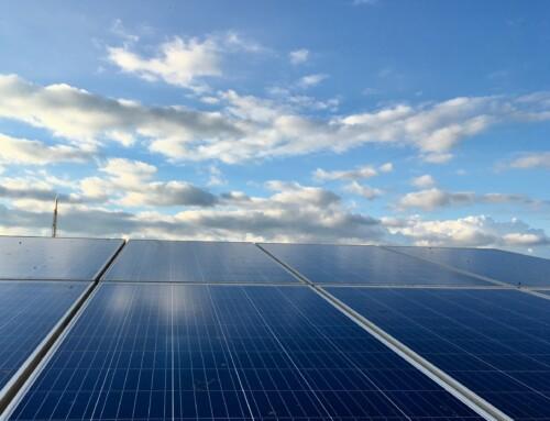 Photovoltaikanlage in Betrieb genommen