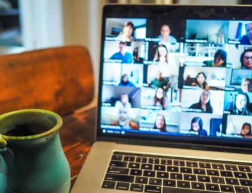 Videokonferenzen bei roTeg Routine