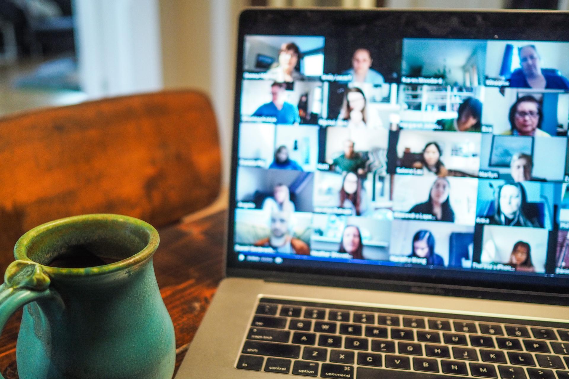 Bei roTeg laufen jetzt immer öfter Videokonferenzen ab