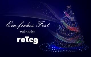 Weihnachtsgrüße von roTeg