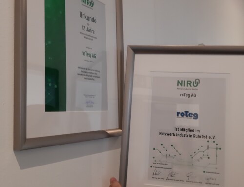 12 Jahre Mitglied bei NIRO
