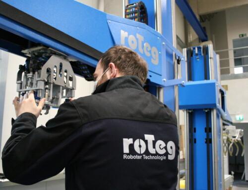 Neue Arbeitskleidung bei der roTeg AG