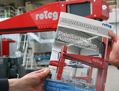 Roboterbroschüre von roTeg erschienen